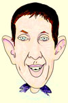 A3 head & shoulders, colour caricature