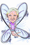 Fairy caricature